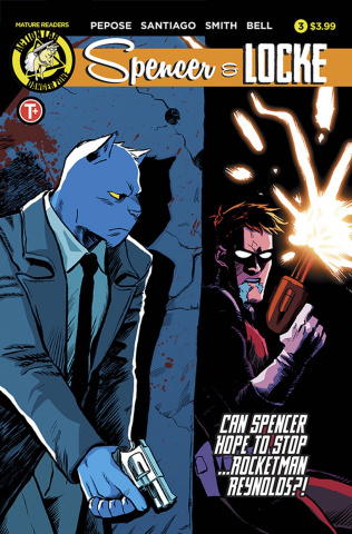 Spencer & Locke #3 (Santiago Jr. Cover)