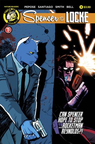 Spencer & Locke #3 (Santiago Jr. Cover)