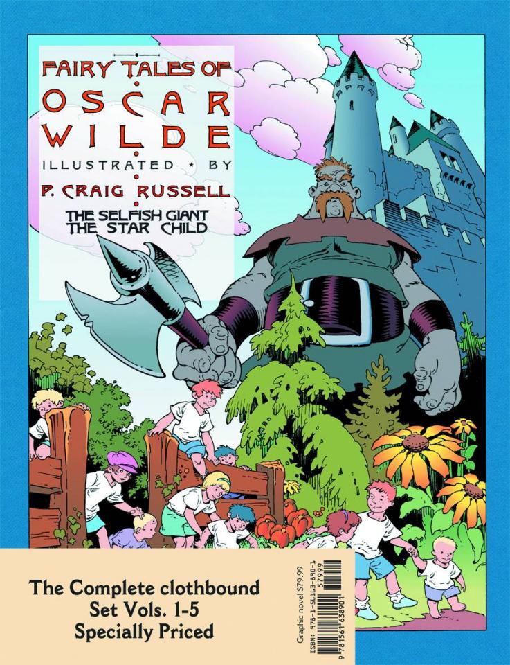 The Fairy Tales of Oscar Wilde Vols. 1-5