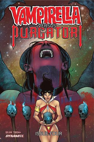 Vampirella vs. Purgatori #4 (Premium Sarraseca Cover)