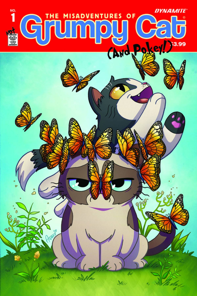 Grumpy Cat #1 (Garbowska Cover)