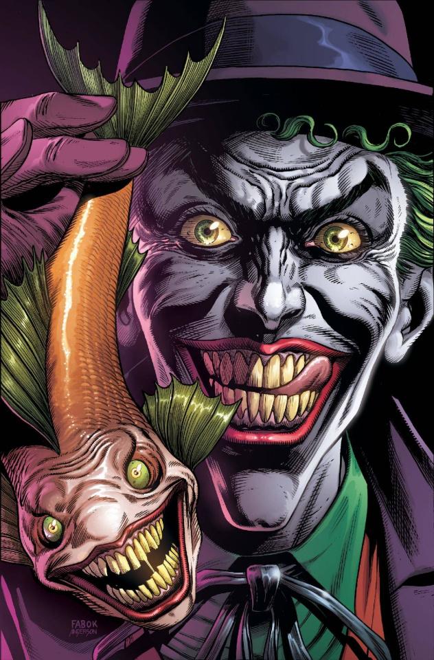 Batman: Three Jokers #1 (Premium Joker Fish Cover)