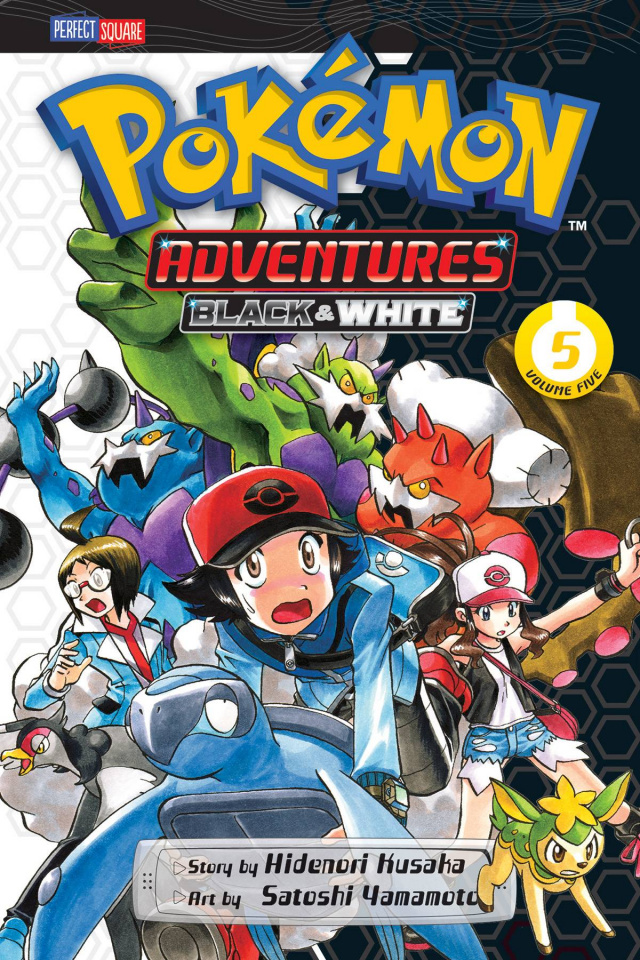 Pokemon Adventures: Black & White Vol. 5
