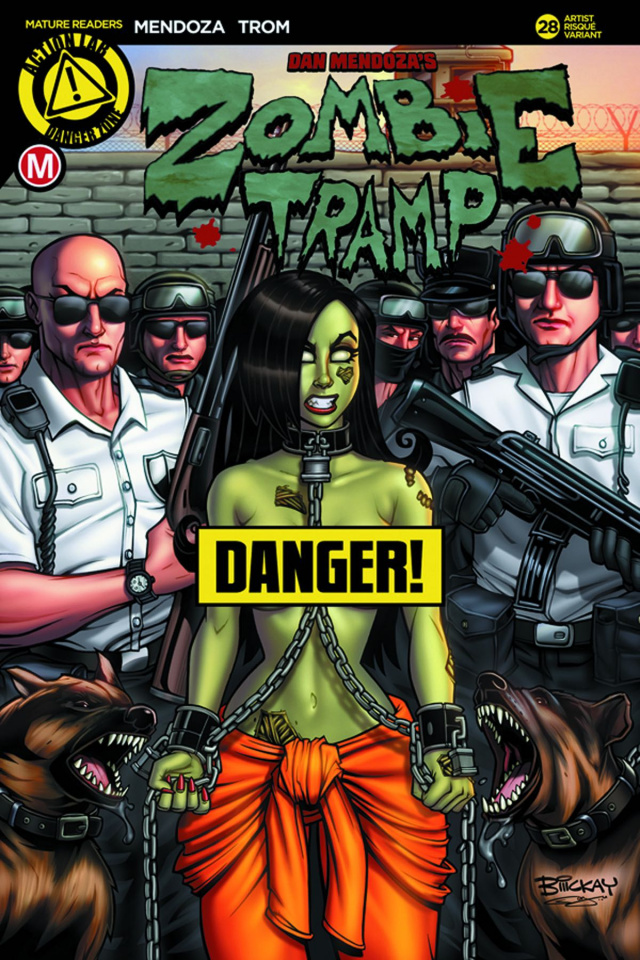 Zombie Tramp #28 (McKay Risque Cover)