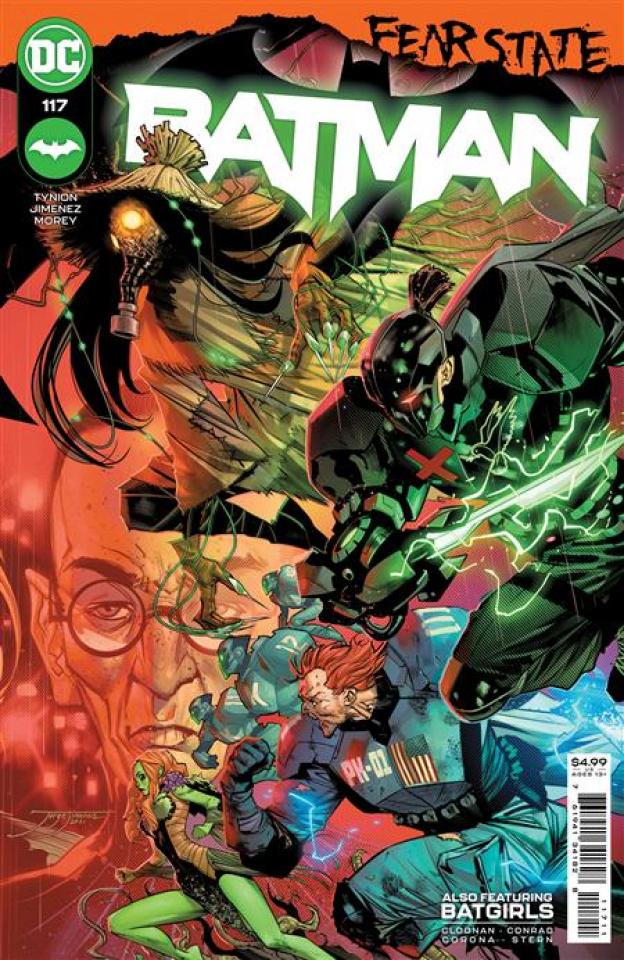 Batman #117 (Jorge Jimenez Cover)