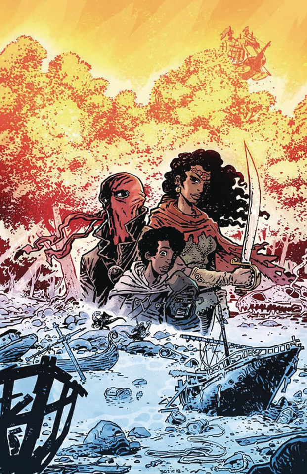 Red Range: Pirates of Fireworld #1 (Bozic Cover)