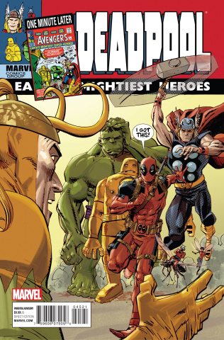 Deadpool #45 (Avengers Variant)