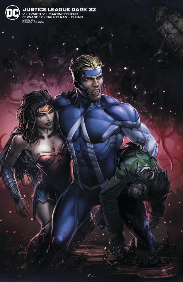 Justice League Dark #22 (Clayton Crain Cover)