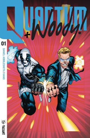 Quantum & Woody #1 (20 Copy Ultra Foil Cover)