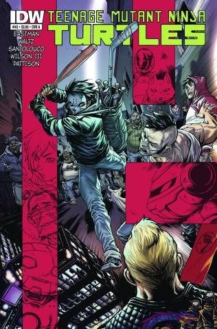 Teenage Mutant Ninja Turtles #45 (2nd Printing)