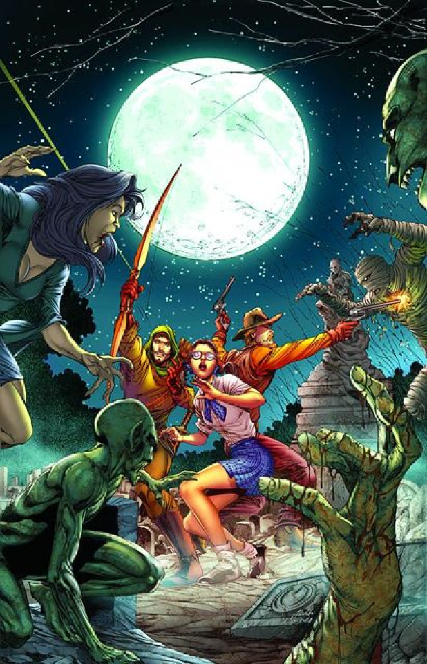 Grimm Fairy Tales: The Library #3