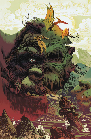 Kong of Skull Island #6 (10 Copy Trakhanov Cover)