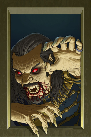 Anno Dracula #5 (McCaffrey Cover)