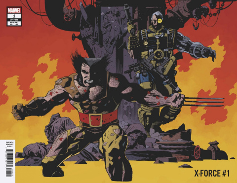 X-Force #1 (Mignola Remastered Cover)