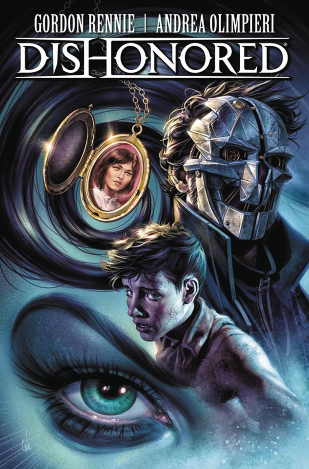 Dishonored #4 (Wahl Cover)