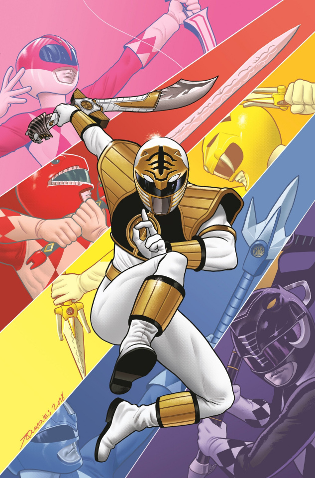 Mighty Morphin Power Rangers Anniversary Special #1 (25 Copy Quinones Cover)