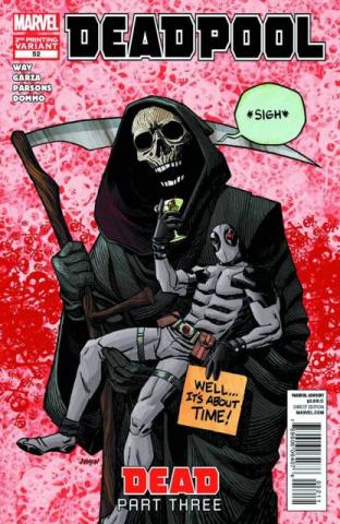 Deadpool #52 (2nd Printing)