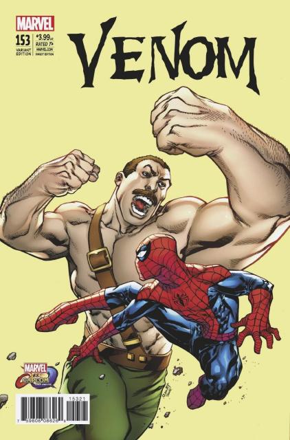 Venom #153 (Raney Marvel vs. Capcom Cover)