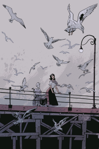 The Umbrella Academy: Hotel Oblivion #4 (Ba Cover)