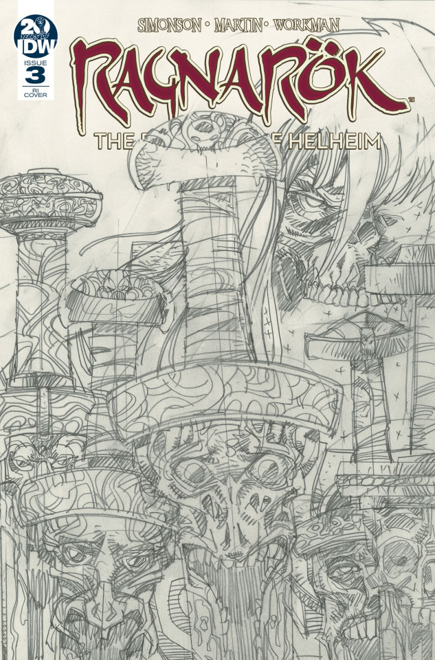 Ragnarök: The Breaking of Helheim #3 (10 Copy Simonson Cover)
