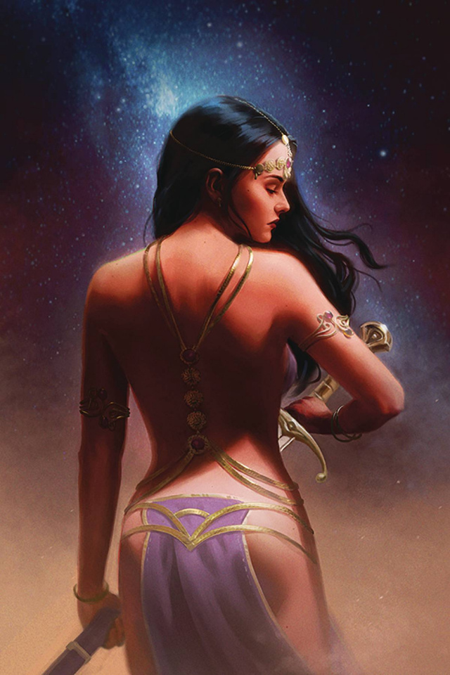 Dejah Thoris #5 (Preissler Virgin Cover)