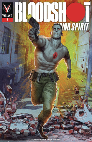Bloodshot: Rising Spirit #7 (Guedes Cover)