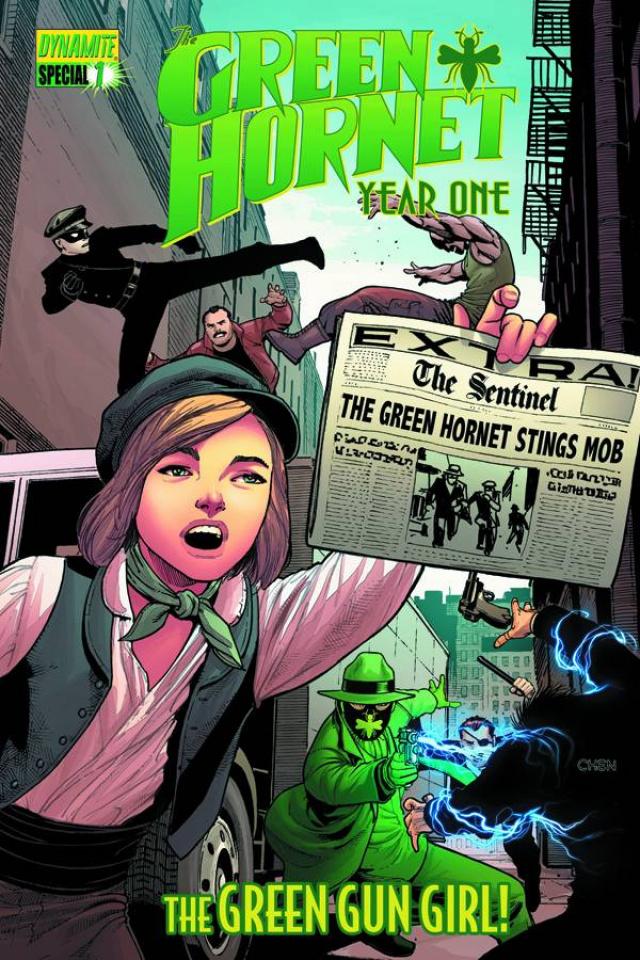 Green Hornet: Year One #1