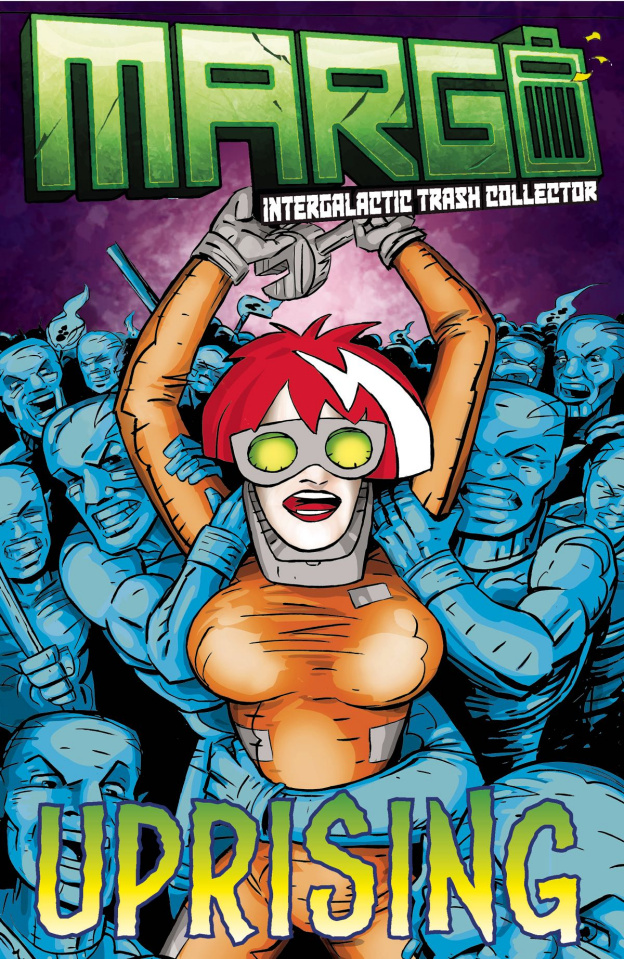 Margo: Intergalactic Trash Collector #2 (Whiting Cover)