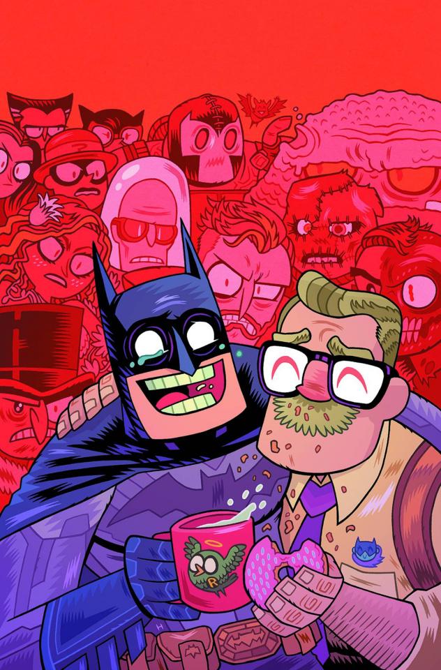 Batman #42 (Teen Titans Go! Cover)