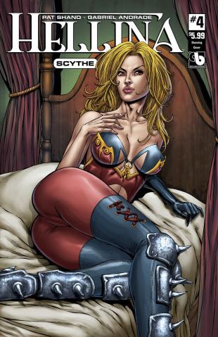 Hellina: Scythe #4 (Stunning Cover)
