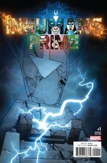 Inhumans: Prime #1 (Sook Cover)