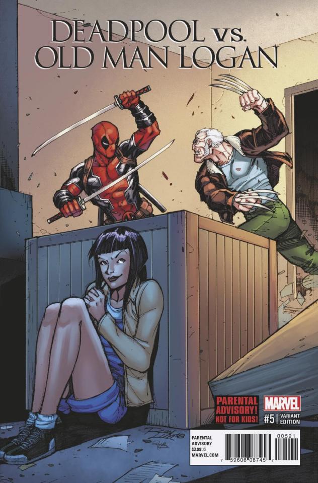 Deadpool vs. Old Man Logan #5 (Lim Cover)