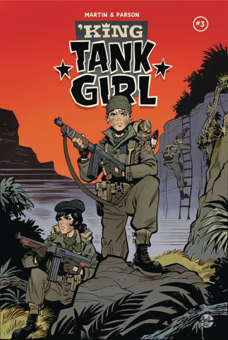 King Tank Girl #3 (Parson Cover)