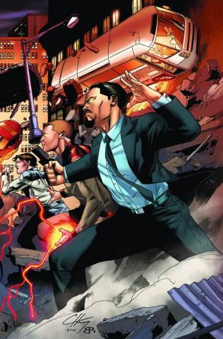 Harbinger #11 (Henry Cover)