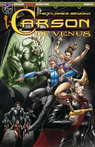 Carson of Venus: The Flames Beyond #3 (Mesarcia Cover)
