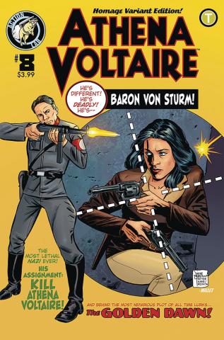 Athena Voltaire #8 (Bryant Cover)