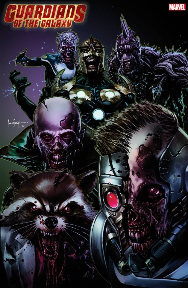 Guardians of the Galaxy #4 (Suayan Marvel Zombies Cover)