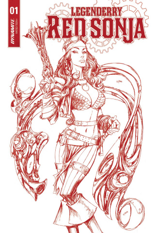 Legenderry: Red Sonja #1 (25 Copy Red Art Cover)