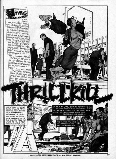 Neal Adams: Thrill Kill - Artist Edition Portfolio