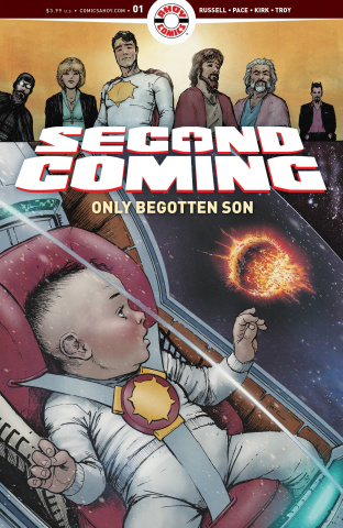 Second Coming: Only Begotten Son #1 (Pace Cover)