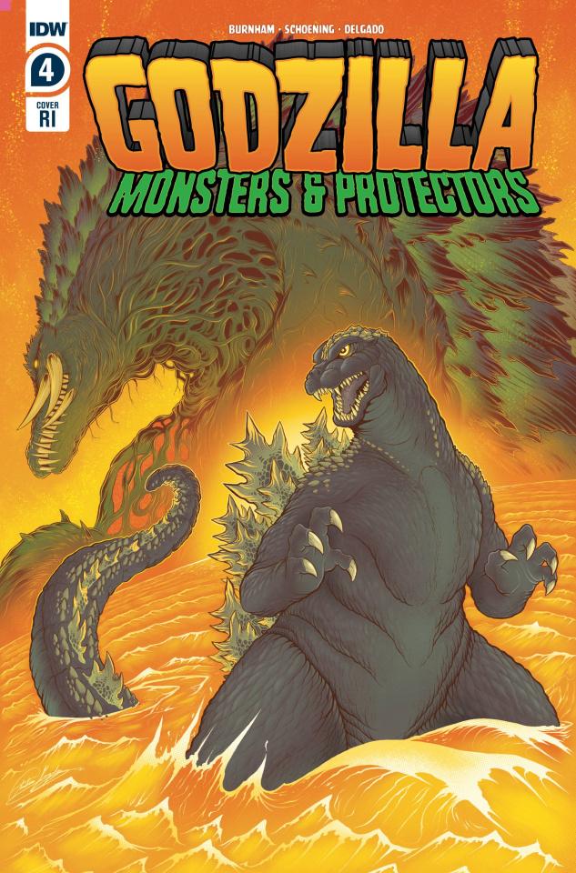 Godzilla: Monsters & Protectors #4 (10 Copy Gonzalez Cover)