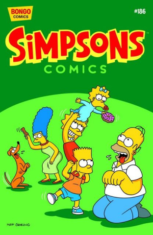 Simpsons Comics #186