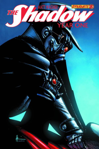 The Shadow: Year One #8 (Chaykin Cover)