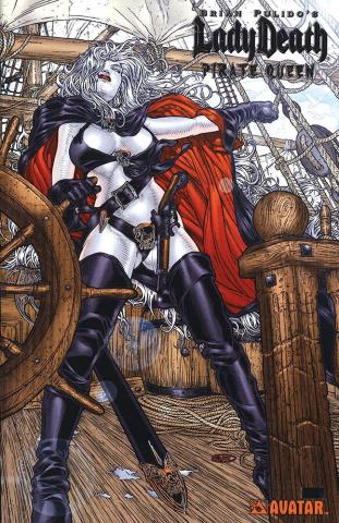 Lady Death: Pirate Queen (Platinum Foil Cover)