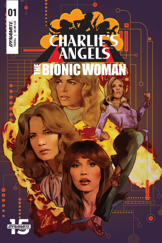 Charlie's Angels vs. The Bionic Woman #1 (Staggs Cover)