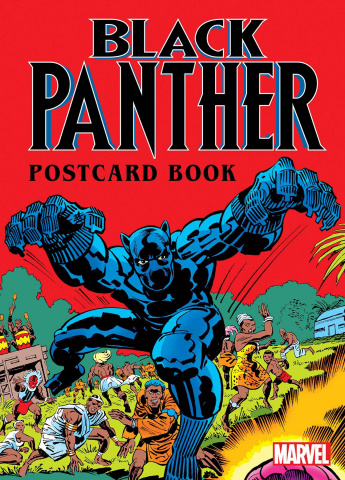 Black Panther Postcard Book