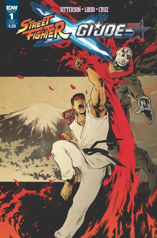 Street Fighter X G.I. Joe #1 (Subscription Cover)