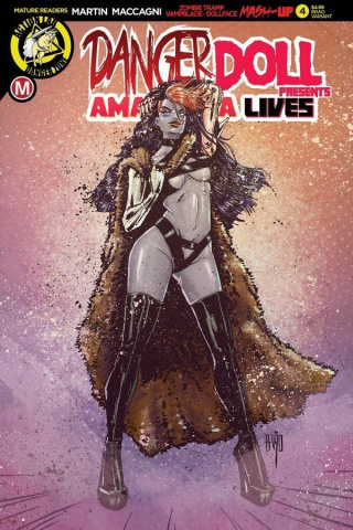Danger Doll Squad Presents: Amalgama Lives #4 (Cover)
