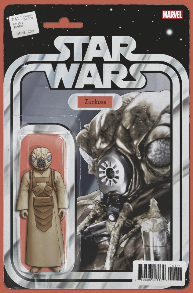 Star Wars #41 (Christopher Action Figure Cover)
