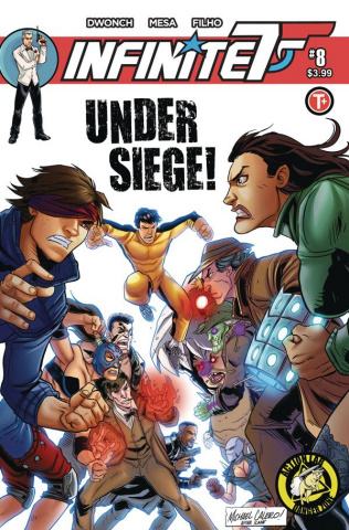 Infinite Seven #8 (Calero Cover)
